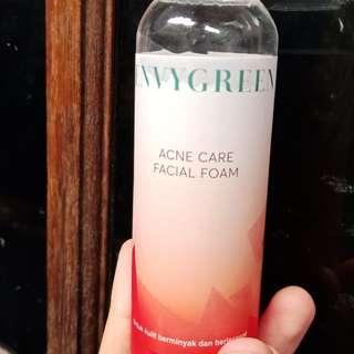 Envygreen Envyme Acne Care Facial Foam 100gr / Sabun Jerawat