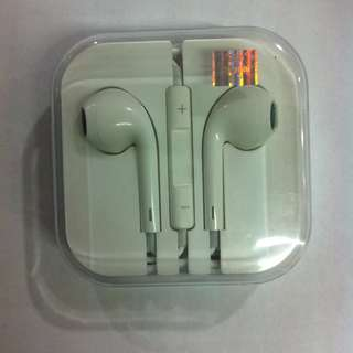Earpods / Headset apple iPhone original pabrik ( oem )