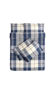 IKEA Queen Quilt Cover and 4 Pillowcases