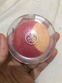 Blush on the body shop shade 02 coral