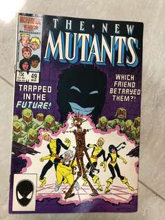 The New Mutants #49