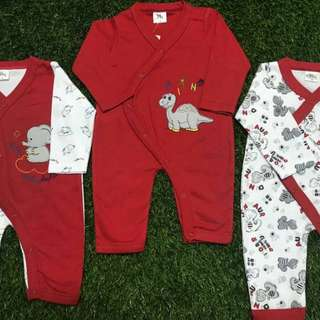 New Baby Pyjamas 3 in 1 set