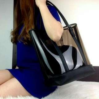 3liza® Emerson Transparent Shopper