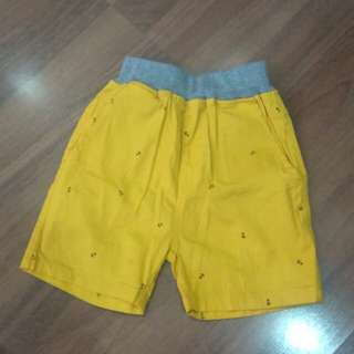 Baby pants, yellow, 2-3 yrs old