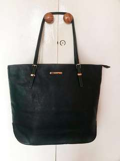 Pre loved Nine West Black Tote Bag