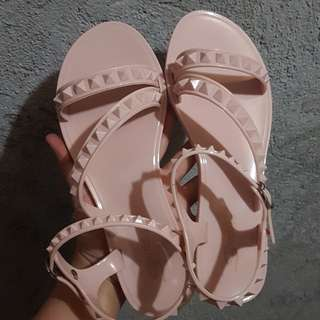 Valentino Inspired Jelly Sandals