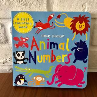 Animal Numbers board book