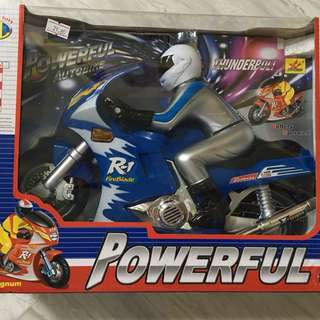 Powerful motorcycle