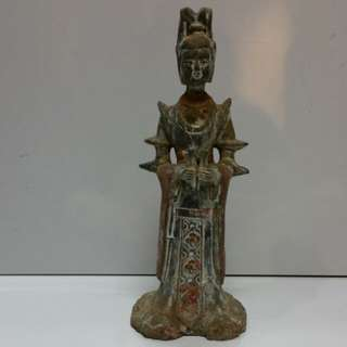 Old chinese statue H27cm