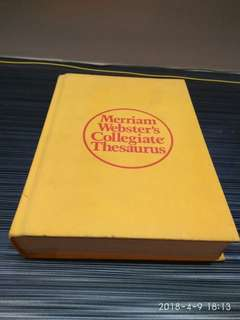 Thesaurus 868 pages