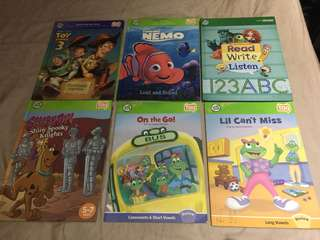Leap Frog Tag storybooks