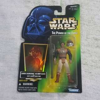 Legit Brand New Sealed Kenner Star Wars Lando Calrissian Skiff Guard Force Pike Toy Figure