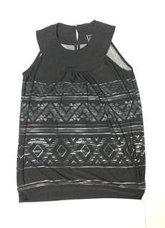 Freeway black blouse