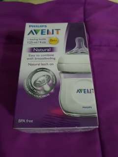 To bless: 125ml Avent Natural bottle