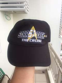Star Trek Cruise Cap and ID Holder