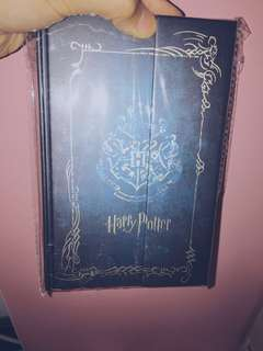 harry potter notebook with hard cover