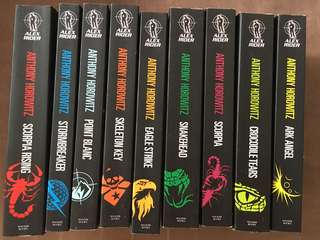 Alex Rider 9 Books