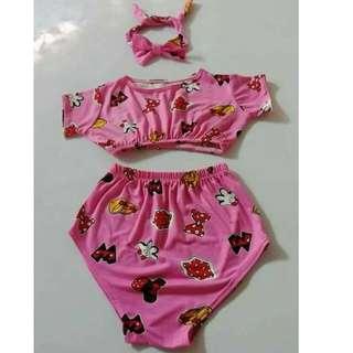 Terno Swimsuit for Little Girls Kids