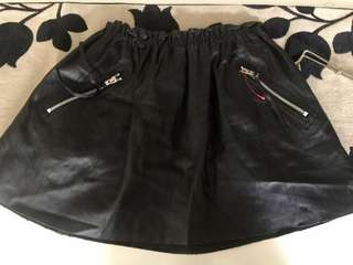 SALE!!! SALE!!! SALE!!! Leather skirt from Japan