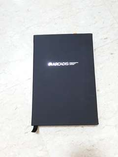 Hard cover stylish notebook