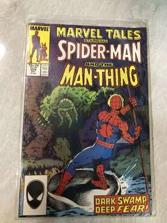 Spider-Man and the Man Thing