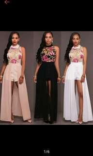 Pre-Order New Women Sexy Summer Lace Maxi Long Dress