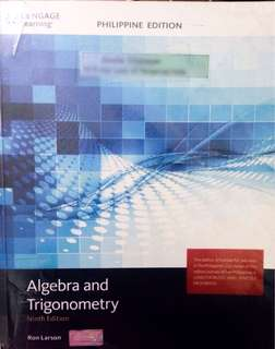 Algebra and Trigonometry Ninth Edition by Ron Larson, Cengage Learning