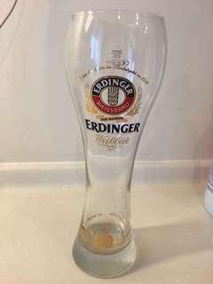 Beer Glass erdinger - very large glass