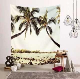 小預算佈置術海島風情裝飾掛布壁畫