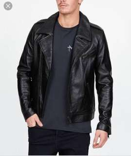 Ksubi Leather Jacket