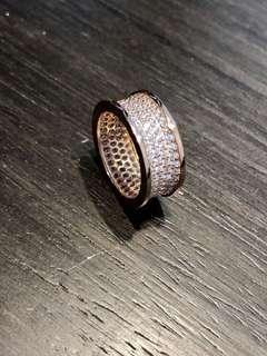 Bvlgari 1:1 Rose Gold Ring