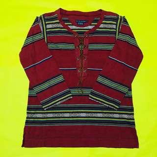 Bohemian Vibe Stripes Patterned Top