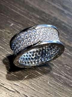 Bvlgari 1:1 Silver Ring