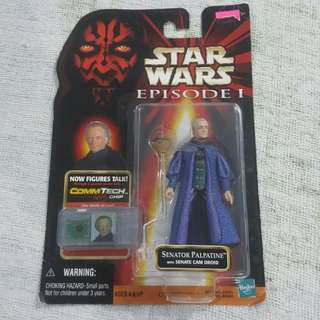 Legit Brand New Sealed Hasbro Star Wars Senator Palpatine Senate Cam Droid Toy Figure
