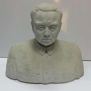 Old Chinese Porcelain statue 'Chou Enlai' H28xL32cm..marked Jin Dezhen 美一