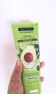FREEMAN - Avocado & Oatmeal Clay Mask