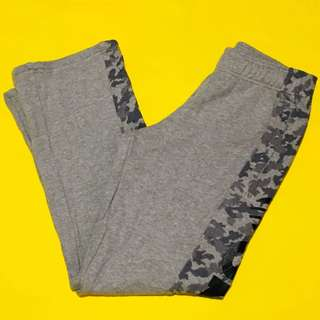 Adidas Gray Camouflage Patterned Track Pants