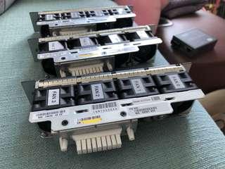 Original Cisco 4948 Fan Unit WS-X4991 V04 Fan 800-24594-02