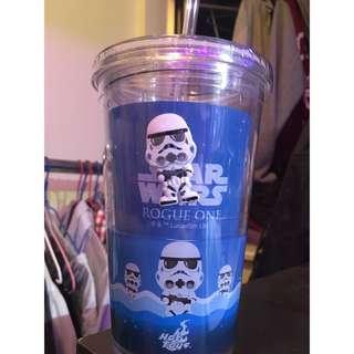 Star Wars Rogue One plastic cup 膠造汽水水杯