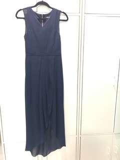 Ever new navy blue long dress