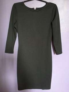 Gray Sexy Dress