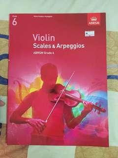 ABRSM Violin Grade 6 Scales & Arpeggios