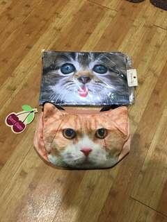 🚚 泰國貓咪臉側/斜包包