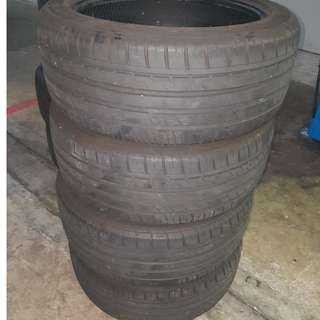 225/45R17 Used Tyre (4 pieces)