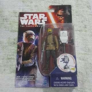 Legit Brand New Sealed Hasbro Star Wars Resistance Trooper Soldat De La Resistance Toy Figure
