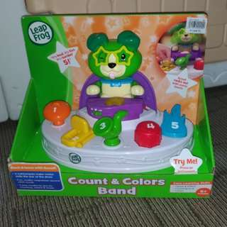Leap Frog Count and Color Band baby toy