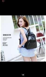 Korean Backpack Black