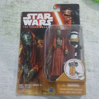 Legit Brand New Sealed Hasbro Star Wars Sarco Plank Toy Figure