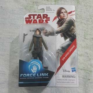 Legit Brand New Sealed Hasbro Star Wars Jyn Erso Jedha Toy Figure