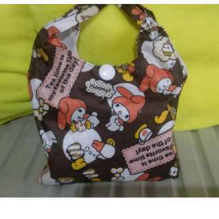 my melody eco bag 13x16""